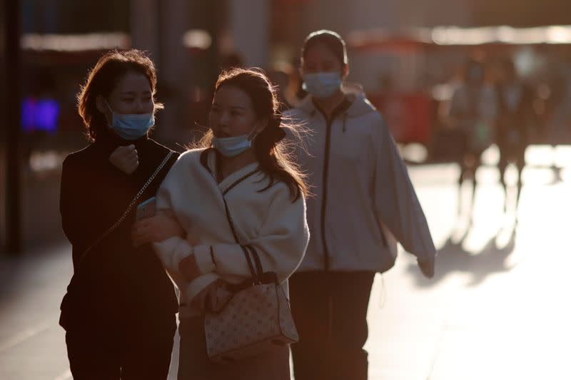 China reports 17 new coronavirus cases in mainland as of end-November 3 vs 49 a day earlier