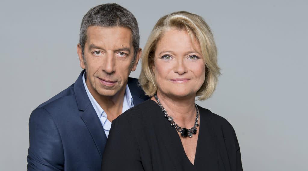 Marina carr re d 39 encausse et michel cymes se confient sur leur duo - Michel cymes et marina carrere d encausse ...