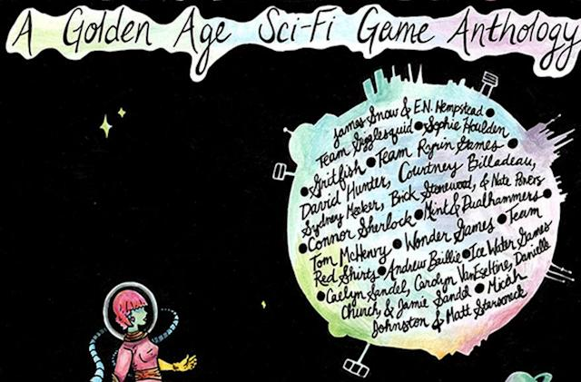 Dive into a sci-fi game anthology full of stars and weird games