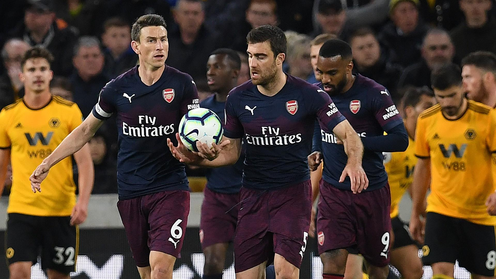 b3df4143c Sokratis reveals Arsenal dressing room anger   says players to blame for  slump