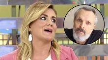 Miguel Bosé humilló a Carlota Corredera por la sudoración de sus manos