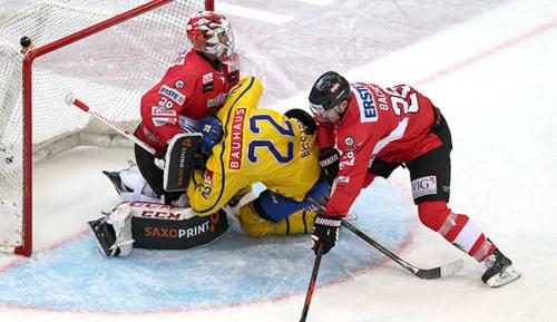 Eishockey: Österreich mit Achtungserfolg gegen Schweden