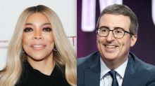 John Oliver shows off the surprising gift he got from Wendy Williams: 'Brace yourself'
