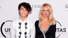 Pamela Anderson and Her Model Son Dylan Lee Hit the Red Carpet in NYC