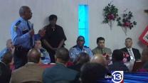Church burglaries focus of townhall meeting