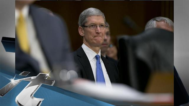 United States Breaking News: Apple's Cook Faces Senate Questions on Taxes