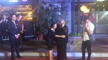 Isabel Granada's mother breaks down at Walk of Fame