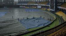 Rain halts play in third India-Sri Lanka ODI