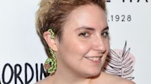 Lena Dunham poses in nothing but body paint in photo taken by her mom