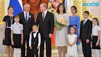 President Putin Honors Families With Order of Parental Glory at Kremlin