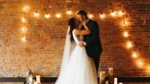 After coronavirus canceled their wedding plans, this couple turned to Airbnb and Facebook Live