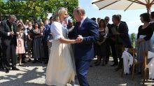 Putin fue a la boda de una ministra austríaca, bailó con ella y generó revuelo