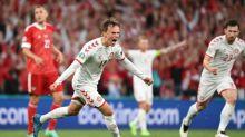 Damsgaard hails Danes' 'insane' passage to Euro 2020 knockouts
