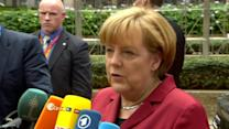 """Germany's Merkel says """"spying among friends not acceptable"""""""