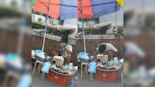Kudos! Parañaque street vendor earns praise for juggling college and work