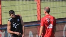 Lewandowski-Zoff im Training?