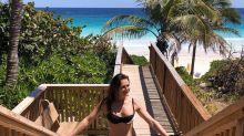 Brooke Shields wears a bikini to return to 'Blue Lagoon,' she jokes