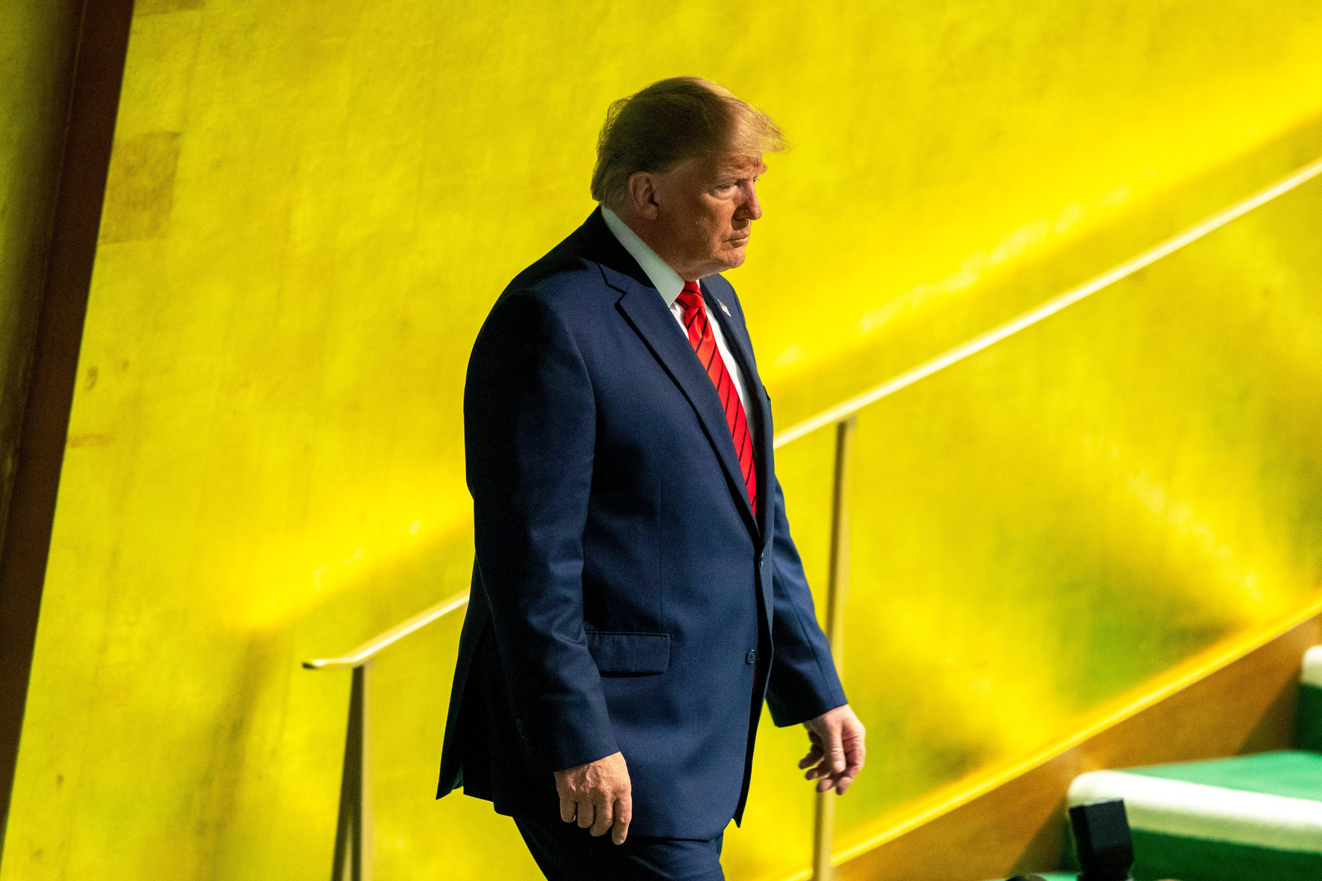 Pay freeze at the U.N.? Trump administration owes the United Nations $1 billion