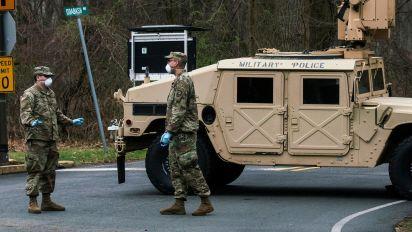 1st U.S. service member dies from coronavirus