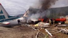 Russia plane crash in Siberia kills two and injures seven more