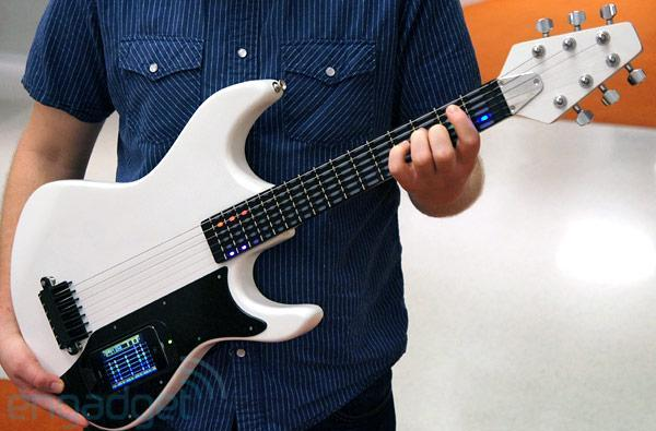 gTar iPhone guitar hands-on