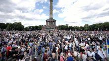 Corona-Newsblog in Berlin: Querdenken 711: Vorerst keine weitere große Demo in Berlin