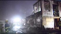 Fire destroys mushroom warehouse in Chester Co.