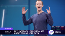 Report: Facebook leaders talked about selling user data