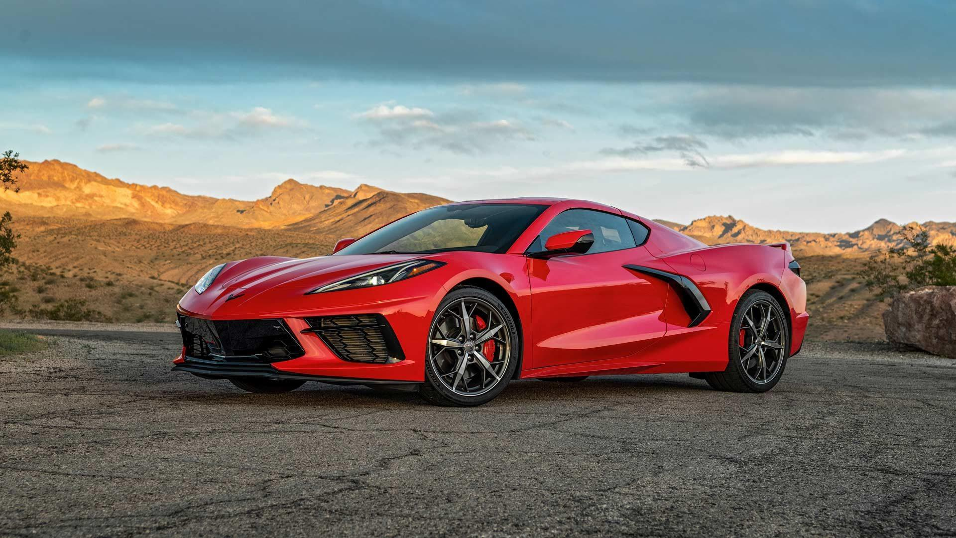 When will the right-hand-drive Chevrolet Corvette be on sale?