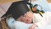 These graduation photos of premature babies will melt your heart