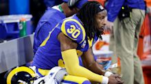 The arthritis in Todd Gurley's knee explains why he was limited in the playoffs