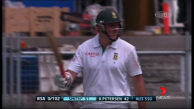Smith leads South Africa fightback