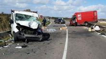 Incidente tra furgoni a Cagliari, un morto e 4 feriti: in coma 25enne