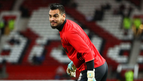 Man Utd Goalkeeper Sergio Romero Likes to Customise His Kit in Quite a Weird Way