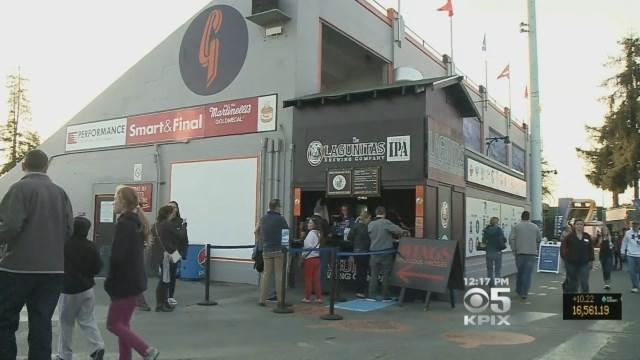 SJ Giants Offer Small Town Baseball Feel In Big City