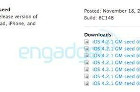 Apple posts iOS 4.2.1 GM seed, iPads salivate in wait