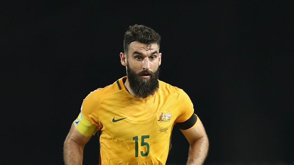 Jedinak absent from Socceroos squad for crucial World Cup qualifiers
