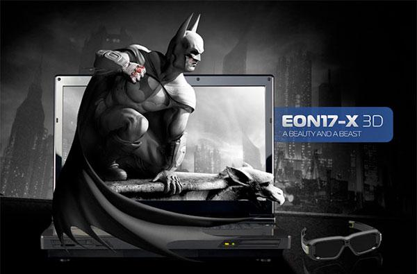 Origin PC launches new 3D gaming laptop: two graphics cards for three dimensions