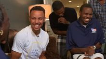 Steph Curry Helps 'The View' Surprise Disabled Veteran With New Home
