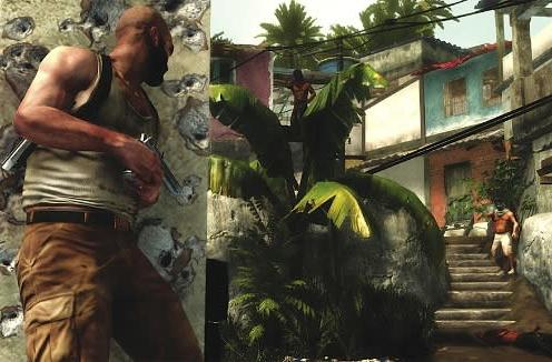 Max Payne 3's new environments (and plus-sized hero) previewed