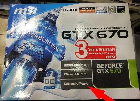 NVIDIA GTX 670 spotted at Malaysian retailer: either it's fake or MSI has a small problem