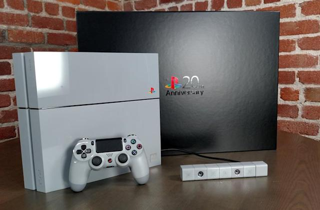 Sony's selling 20th Anniversary Edition PS4s for £19.94, but only in London