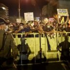 Thousands of Israelis in first protests since new lockdown