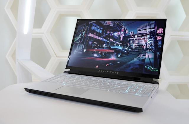 Alienware's Area 51m laptop has an upgradable CPU and graphics card