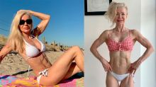 Super fit gran rocks jaw-dropping figure at 63 years old