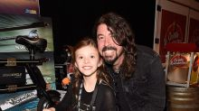 Dave Grohl's 8-Year-Old Daughter Plays the Drums Onstage With the Foo Fighters