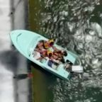 4 People Rescued From Boat Dangling Over Dam At Texas Reservoir