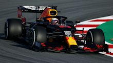 Max Verstappen beats Lewis Hamilton in opening practice at Silverstone