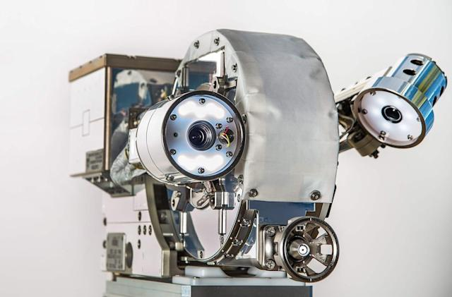 NASA Spacebot, what big eyes you have