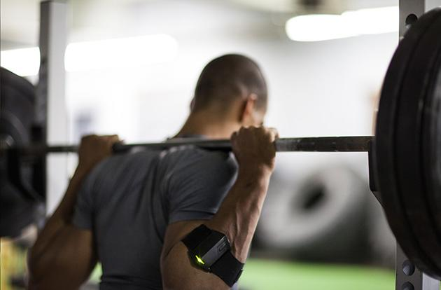 Push band offers wearable insight for your strength training regimen